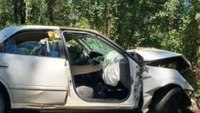 Paramedic survives after being trapped inside overturned car for 12 hours