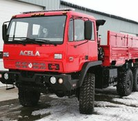 General Truck Body to distribute the Monterra 6x6 High Water Flood Rescue Vehicle