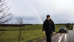 Siller began his journey onAug. 1at the Pentagon inWashington, D.C.