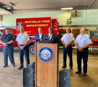Buffalo Fire Department awarded FEMA grant for more training, equipment