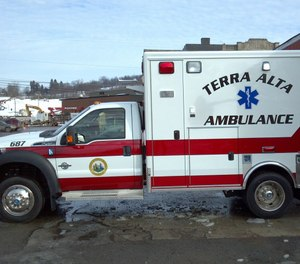 Terra Alta Community Ambulance, a volunteer squad, was one of two West Virginia ambulance services to receive needed PPE from the Preston County Office of Emergency Management. (Photo/Terra Alta Ambulance Facebook)