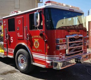 Sacramento's firefighters' union is urging voters to vote