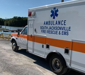 The South Jacksonville Village Board of Trustees have voted to completely defund the village's ambulance service. The ambulance service will cease operations on Aug. 1, 2020. (Photo/South Jacksonville Fire Department Facebook)