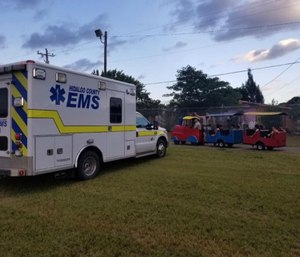 """The reorganization will allow the company to """"establish a sound capital structure for long term growth and profitability."""" (Photo/Hidalgo County EMS Facebook)"""