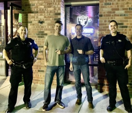Fire captain, retired Army lieutenant detain armed robbery suspect