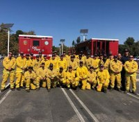 6 ex-prisoners graduate from firefighter training camp for former inmates