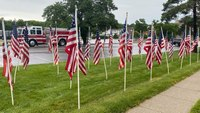 Photo of the Week: Kan. FFs place 'Flags 4 Freedom'