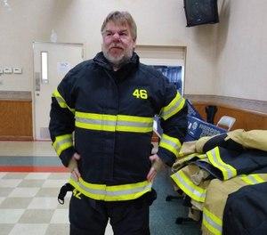 Delmont Fire Chief Rich Balik, 47, died unexpectedly last week from an apparent cardiac arrest. (Photo/Delmont Volunteer Fire Department Facebook)