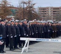Mass. firefighters fulfill 'hero's sendoff' promise for fallen Fire Lt. Jasen Menard