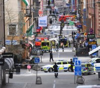 Hijacked truck crashes into Stockholm store in terror attack