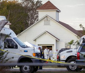 Gov. Greg Abbott called Sunday's attack the worst mass shooting in Texas history. (Photo/AP)