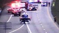 Va. EMT airlifted to hospital after ambulance crash
