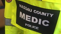 NY woman arrested for allegedly kicking paramedic, police officer