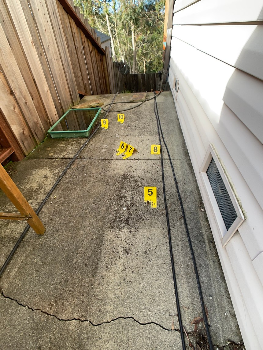 Figure 8:This image shows a medium view with evidence markers placed. Anything amiss?