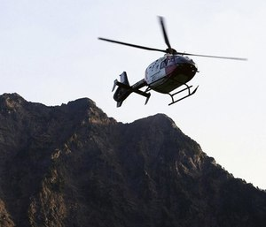 Rides in air ambulances can lead to bills of more than $20,000. (Photo/AP)
