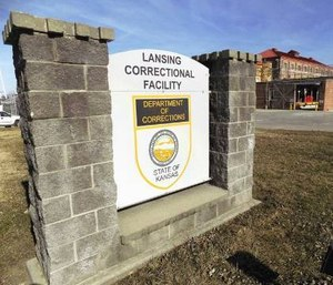 Officials said the unrest in the prison and low staffing could quickly become dangerous. (Mark Rountree/The Leavenworth Times via AP)