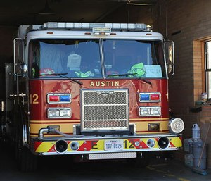 Firefighter Kelly Gall is suing the city of Austin for failing to prevent sexual harassment from former Austin fire Lt. James Baker, who pleaded guilty in October to filming Gall in a fire station restroom. (Photo/AFD)