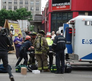 First responders say that requiring a physical injury, as under current law, is inconsistent with the definition of PTSD. (Photo/Wikimedia Commons)