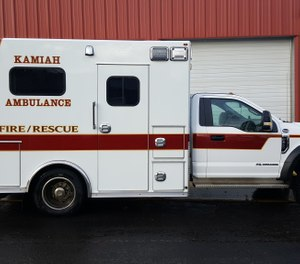 The Kamiah City Council has reversed its plan to dissolve the city's ambulance service and has hired a supervisor to oversee the fire and EMS departments. (Photo/Kamiah Ambulance Facebook)