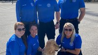 PTSD support dog joins Fla. county public safety department