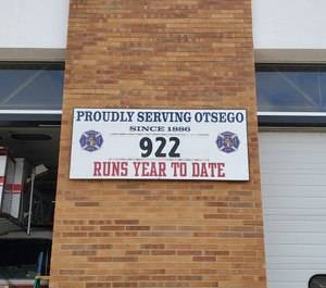 The township of Otsego will end medical calls for firefighters beginning on June 30. The department responded to more than 450 medical calls in 2019 and the town would save more than $54,000 by sending only the contracted EMS provider to such calls, according to Town Supervisor Bryan Winn. (Photo/Otsego Fire Department Facebook)