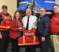 Hospital donates ballistic vests to W.Va. firefighters, medics