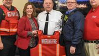 Hospital donates ballistic vests to W.Va. firefighters, medics