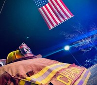 Procession honors Iowa firefighter who died from cystic fibrosis