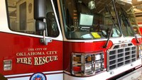 父母赞扬OKC FF纪律训练在消防车中运送儿童,说EMS系统'失败'