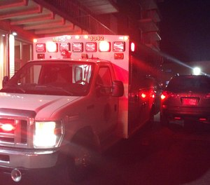The Euclid Fire Department wrote on Facebook that one of their ambulances was hit by a driver trying to get a parking spot while they were responding to a medical emergency.