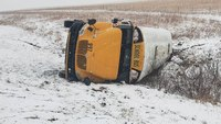 27 elementary students injured in Kan. bus crash, 9 transported from school