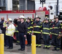 Mass. city honors 4 fallen firefighters on 125th anniversary of deadly blaze