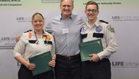 Cardiac arrest survivors reunite with Mich. EMS providers at award ceremony