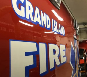 City of Grand Island Fire Department firefighters were responding to the scene of a car crash when citizens protesting the death of George Floyd got in the path of the ambulance, blocking it from moving.