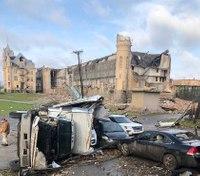 Videos: Tornado 'decimated' historic Tenn. prison