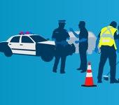 Real police vs. TV police