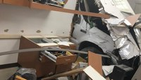 DUI suspect crashed into Calif. fire station, officials say