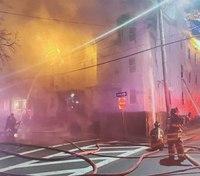 2 Mass. FFs injured in 4-alarm blaze