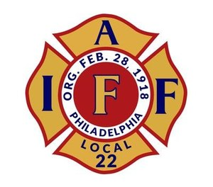 Controversy ignited after Philadelphia Firefighters and Paramedics Union IAFF Local 22 chose to endorse Trump for president, breaking with the national leaders' endorsement of Biden. (Photo/IAFF Local 22 Twitter)