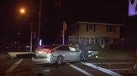 Video: Wis. officer shot point blank through suspect's windshield