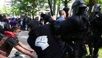 After violence, Calif. debates classifying 'antifa' as a street gang