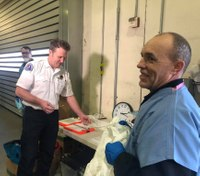 Seattle opens first COVID-19 testing site for first responders