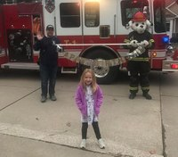 7 fire departments bringing birthday joy to kids stuck at home