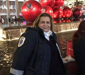 Watchung Rescue Squad EMT Liana Sá died on Sunday from COVID-19, officials say. (Photo/Howell Police EMS Facebook)