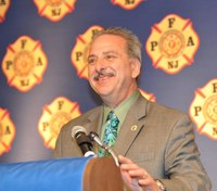 President of NJ state firefighters' union dies suddenly