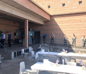 Sgt. Lee and the crew at the jail have already bought mass lunch orders at 10 local restaurants and have a growing list of restaurants to try. (Photo/Sonoma Sheriff via Facebook)