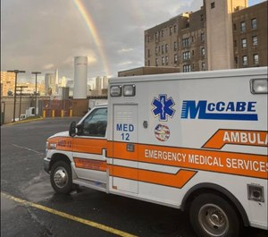 """""""By the time the police arrived, the fire was out, and the patients extricated and loaded into each ambulance ready for transport,"""" McCabe said. """"These EMTs saved those kids' lives. In my 40 plus years in this business, I haven't quite seen anything like this before."""""""
