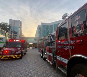 St. Petersburg firefighters and EMS providers have voiced concerns that the city's plan to replace police officers with social workers on some calls would put first responders' safety at risk.