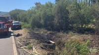 Man suffers heart attack while running to get help for brush fire
