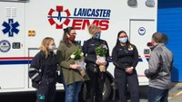 Pa. EMS providers receive Mother's Day surprise